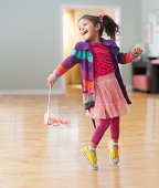 Young Child Dancing
