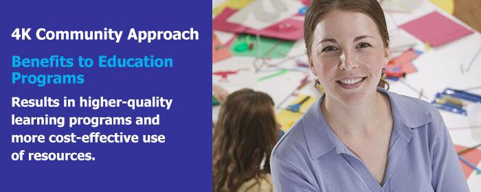 4KCA Slideshow Image - Benefits to Educational Programs