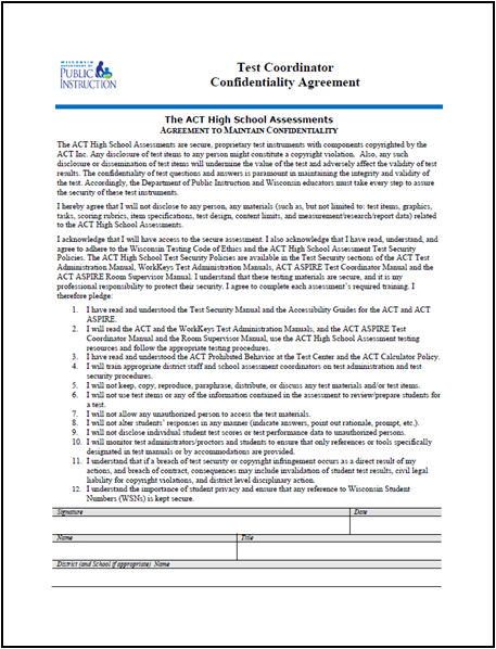Confidentiality Agreement Forms: