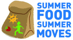 Summer Food Summer Moves Logo