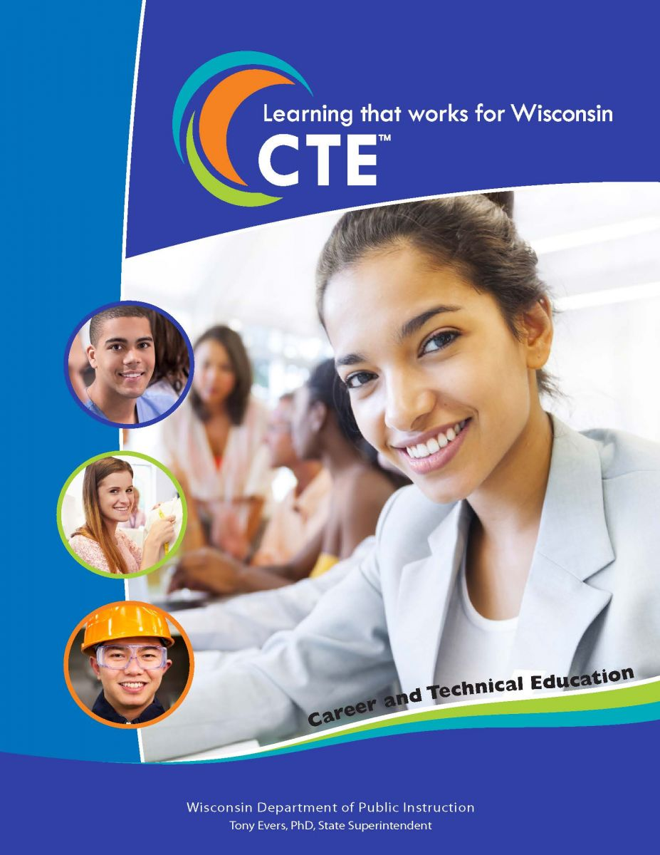 Cover of CTE brochure