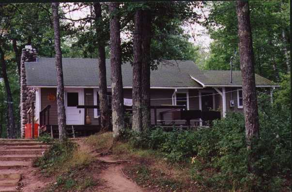 photo of cabin at Jag Lake