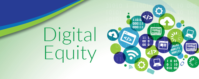 Banner Digital equity