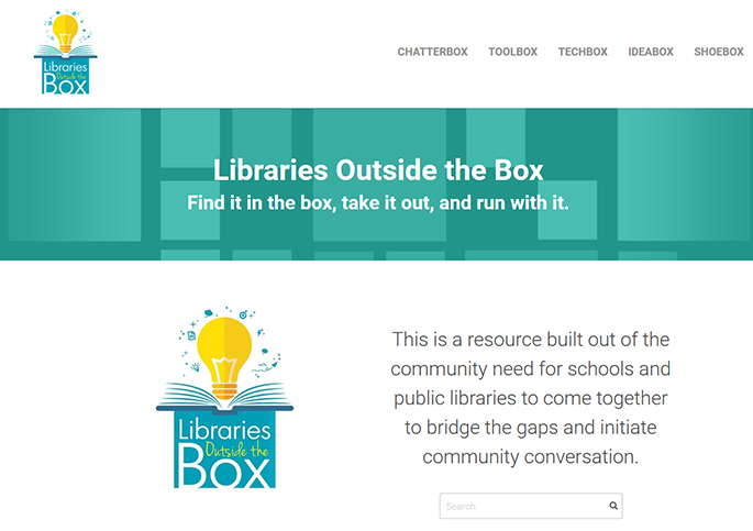 Librarians Outside the Box webpage