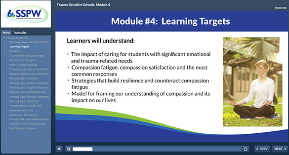 Image of Self Care Professional Learning Module for Teachers