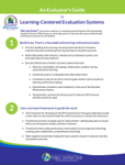 Learning-Centered Evaluation Guide image