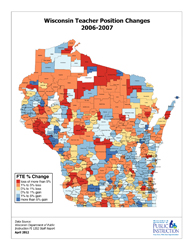 Teacher Position Changes 20042012  Wisconsin Department