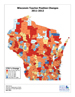 thumbnail of map of Wisconsin showing district-by-district staff changes