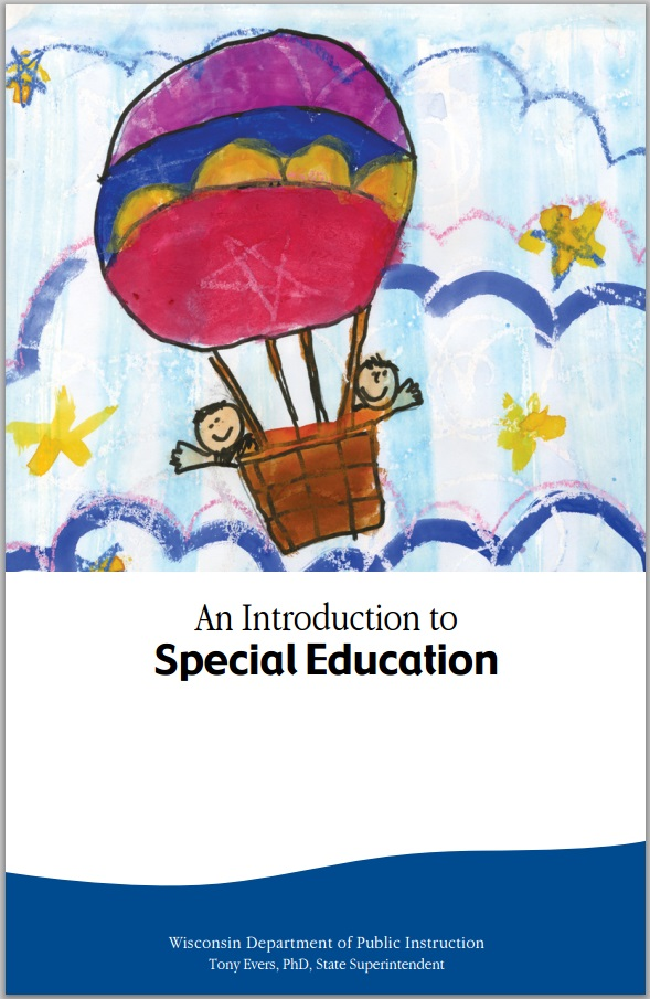 "Photo of the cover to ""An Introduction to Special Education"" publication"
