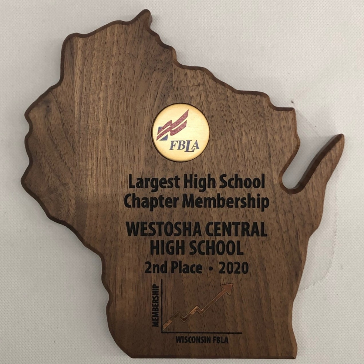 Largest HS Chapter - Westosha Central