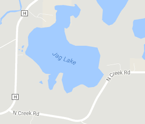 map of Jag Lake