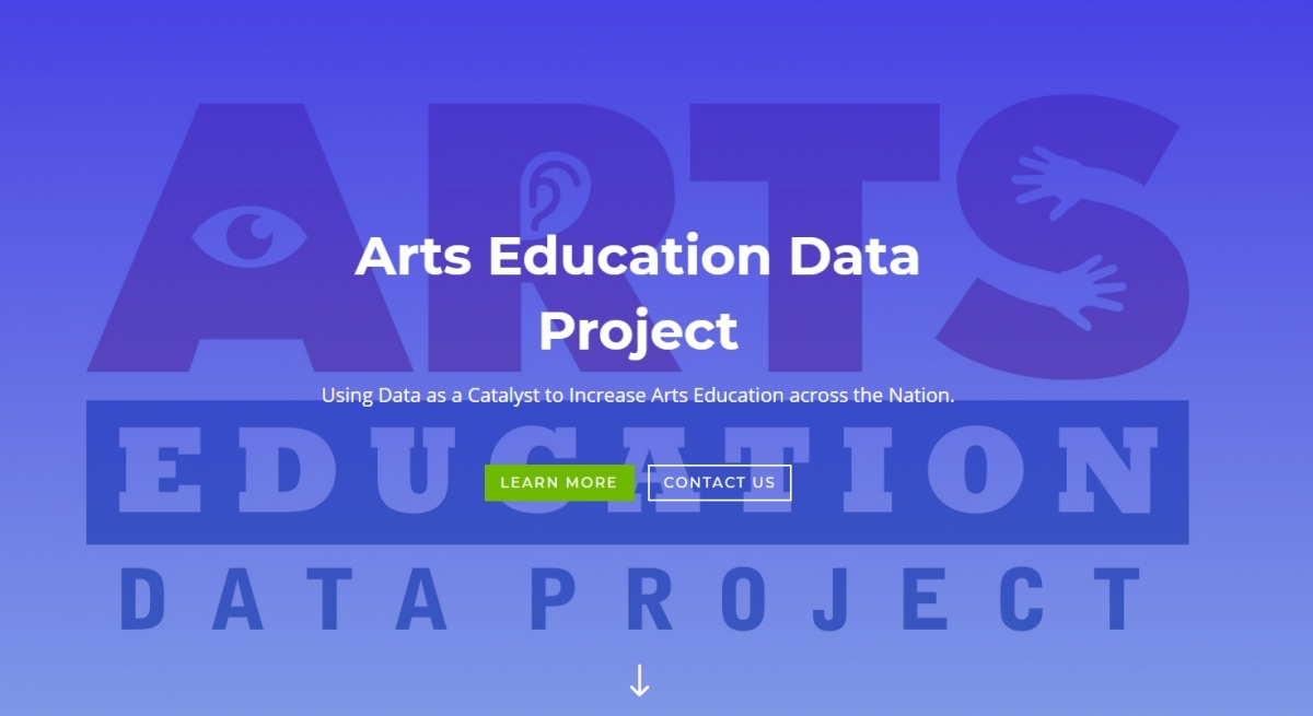 Arts Education Data Project Home Page