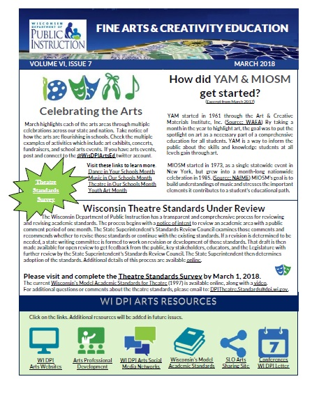 March 2018 Newsletter