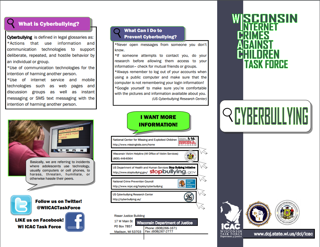 Cyberbullying | Wisconsin Department of Public Instruction