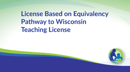 license based on equivalency pathway