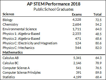 2018 graduates had strong showing in AP program | Wisconsin