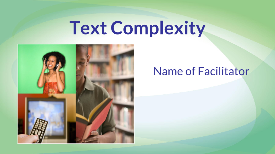 Text Complexity Graphic