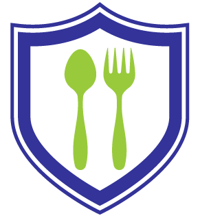 utensils and shield