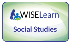 Wiselearn button for social studies