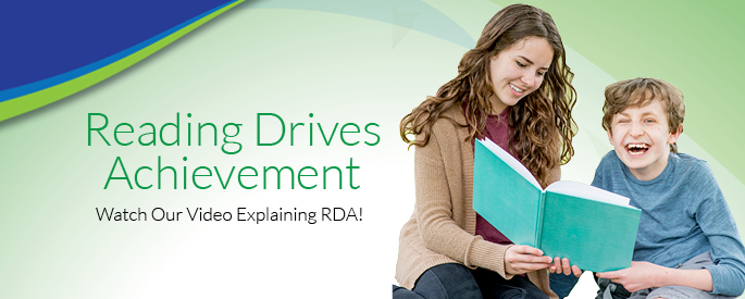 Watch our video explaining RDA (Reading Drives Achievement)