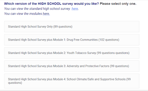 sample question for out of school youth