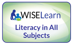 WISELearn Literacy in All Subjects Button