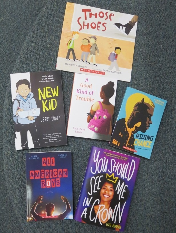 Black Voices titles from Galesville Public Library