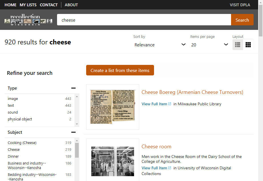 Guest Post: Meet Recollection Wisconsin's New Search