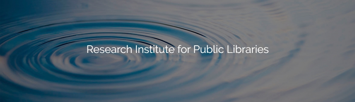 Research Institute for Public Libraries ripples in water