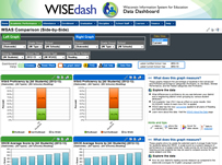 WISEdash screenshot image