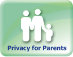 privacy for parents button