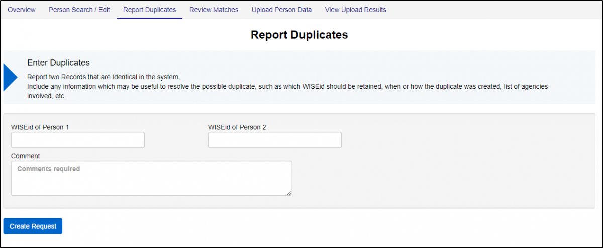 WISEid Report Duplicates.png
