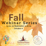 Fall Webinar Series logo