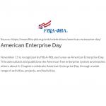 american enterprise day logo