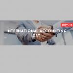 International Accounting Day logo